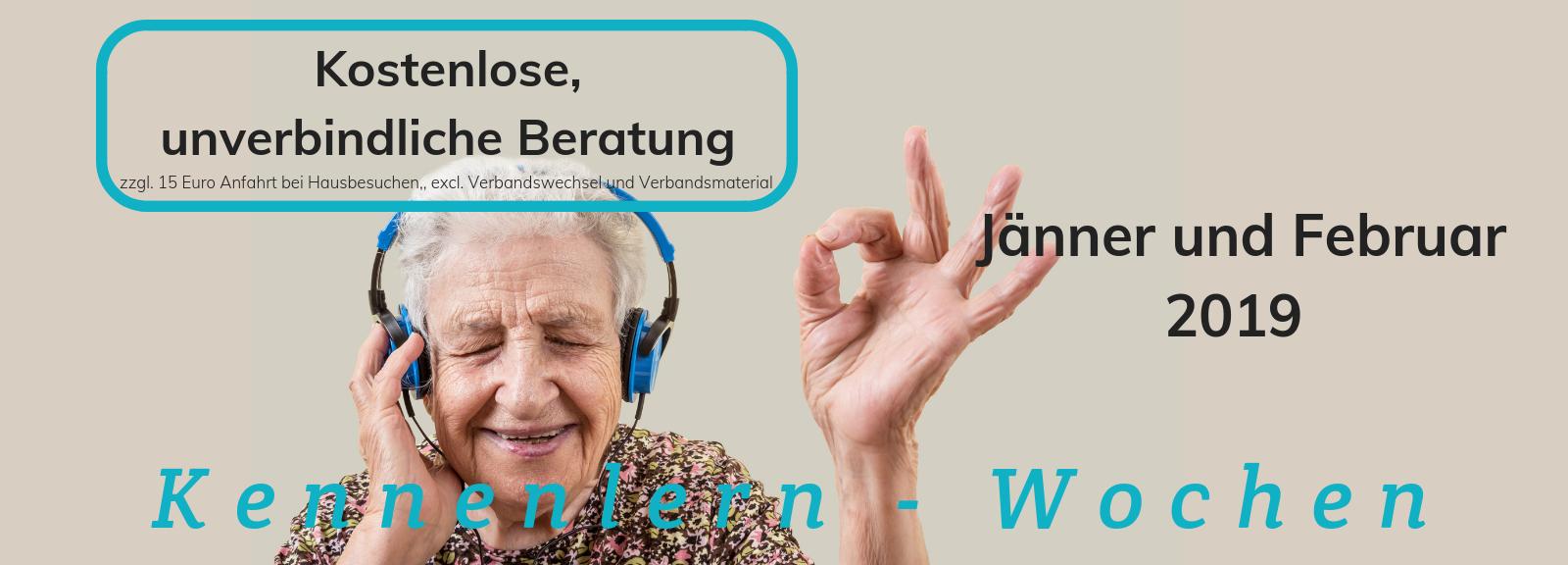 Wundversorgung und Lasertherapie Wien